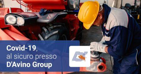 Covid-19, al sicuro presso D'Avino Group