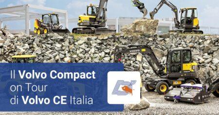 Il Volvo Compact On Tour di Volvo CE Italia