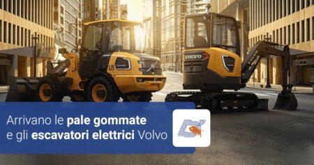 Arrivano le pale gommate e gli escavatori elettrici Volvo