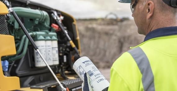 manutenzione escavatore preventiva e generale