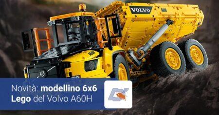 Volvo A60H: il modellino 6×6 Lego Technic è una meraviglia ingegneristica.
