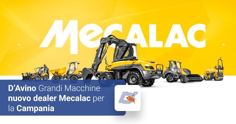 D'Avino Grandi Macchine nuovo dealer Mecalac per la Campania