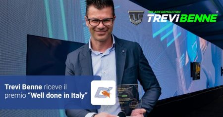 Trevi Benne: riceve il premio Well done in Italy!